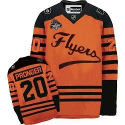 Reebok Philadelphia Flyers 20 Chris Pronger Winter Classic Jersey - Orange Authentic
