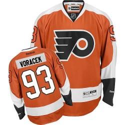 Reebok Philadelphia Flyers 93 Jakub Voracek Home Jersey - Orange Premier