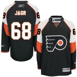 Reebok Philadelphia Flyers 68 Jaromir Jagr Third Jersey - Black Authentic
