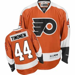 Reebok Philadelphia Flyers 44 Kimmo Timonen Home Jersey - Orange Authentic