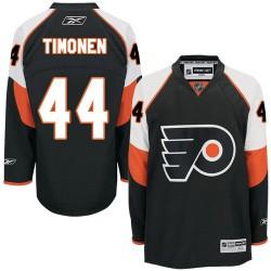 Reebok Philadelphia Flyers 44 Kimmo Timonen Third Jersey - Black Premier