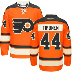 Reebok Philadelphia Flyers 44 Kimmo Timonen New Third Jersey - Orange Authentic