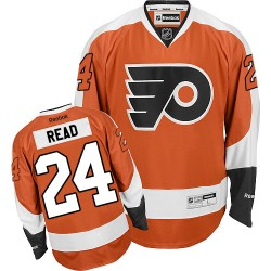 Reebok Philadelphia Flyers 24 Matt Read Home Jersey - Orange Premier