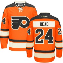 Reebok Philadelphia Flyers 24 Matt Read New Third Jersey - Orange Premier
