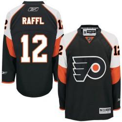 Reebok Philadelphia Flyers 12 Michael Raffl Third Jersey - Black Authentic
