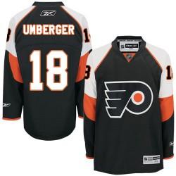 Reebok Philadelphia Flyers 18 R. J. Umberger Third Jersey - Black Premier