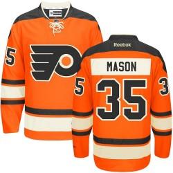 Youth Reebok Philadelphia Flyers 35 Steve Mason New Third Jersey - Orange Authentic
