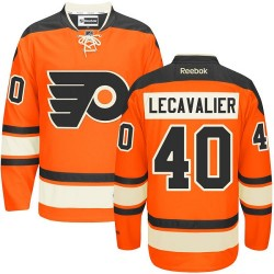 Reebok Philadelphia Flyers 40 Vincent Lecavalier New Third Jersey - Orange Authentic