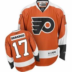 Youth Reebok Philadelphia Flyers 17 Wayne Simmonds Home Jersey - Orange Premier