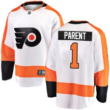 Youth Fanatics Branded Philadelphia Flyers Bernie Parent Away Jersey - White Breakaway