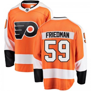 Youth Fanatics Branded Philadelphia Flyers Mark Friedman Home Jersey - Orange Breakaway