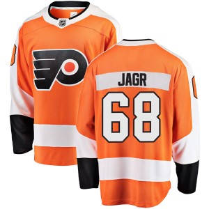 Youth Fanatics Branded Philadelphia Flyers Jaromir Jagr Home Jersey - Orange Breakaway