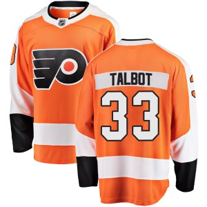 Youth Fanatics Branded Philadelphia Flyers Cam Talbot Home Jersey - Orange Breakaway