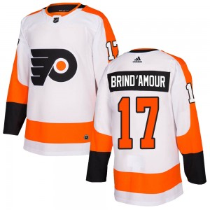 Youth Adidas Philadelphia Flyers Rod Brind'amour Jersey - White Authentic
