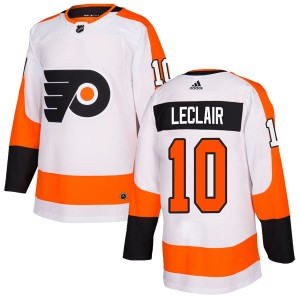 Youth Adidas Philadelphia Flyers John Leclair Jersey - White Authentic