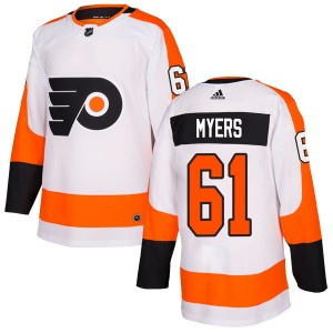 Youth Adidas Philadelphia Flyers Philippe Myers Jersey - White Authentic