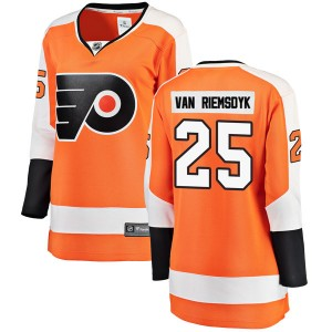 Women's Fanatics Branded Philadelphia Flyers James van Riemsdyk Home Jersey - Orange Breakaway