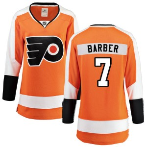 Women's Fanatics Branded Philadelphia Flyers Bill Barber Home Jersey - Orange Breakaway