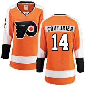 Women's Fanatics Branded Philadelphia Flyers Sean Couturier Home Jersey - Orange Breakaway