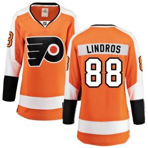 Women's Fanatics Branded Philadelphia Flyers Eric Lindros Home Jersey - Orange Breakaway