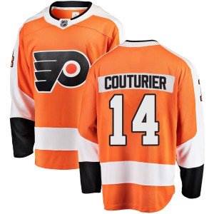 Fanatics Branded Philadelphia Flyers Sean Couturier Home Jersey - Orange Breakaway