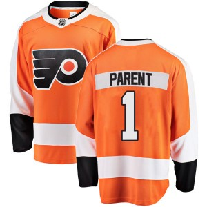 Fanatics Branded Philadelphia Flyers Bernie Parent Home Jersey - Orange Breakaway