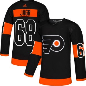 Adidas Philadelphia Flyers Jaromir Jagr Alternate Jersey - Black Authentic