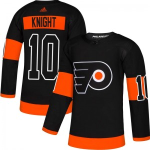 Adidas Philadelphia Flyers Corban Knight Alternate Jersey - Black Authentic