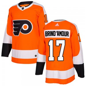 Youth Adidas Philadelphia Flyers Rod Brind'amour Home Jersey - Orange Authentic