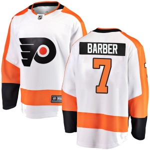 Youth Fanatics Branded Philadelphia Flyers Bill Barber Away Jersey - White Breakaway