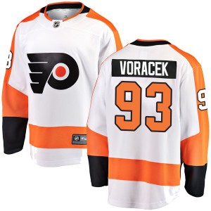 Youth Fanatics Branded Philadelphia Flyers Jakub Voracek Away Jersey - White Breakaway