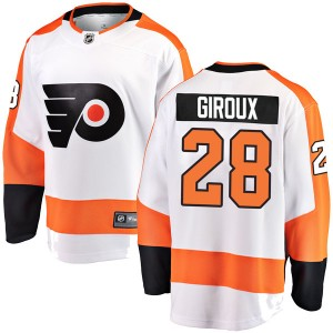 Fanatics Branded Philadelphia Flyers Claude Giroux Away Jersey - White Breakaway