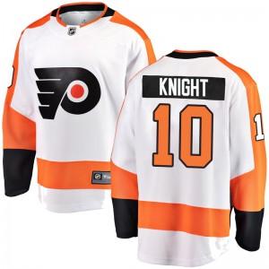 Fanatics Branded Philadelphia Flyers Corban Knight Away Jersey - White Breakaway
