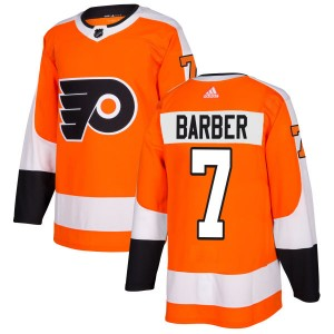 Adidas Philadelphia Flyers Bill Barber Jersey - Orange Authentic