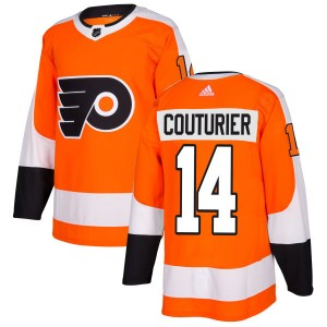 Adidas Philadelphia Flyers Sean Couturier Jersey - Orange Authentic