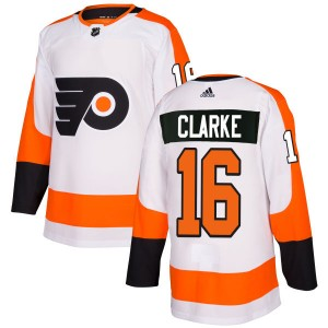 Adidas Philadelphia Flyers Bobby Clarke Jersey - White Authentic