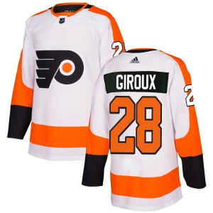 Adidas Philadelphia Flyers Claude Giroux Jersey - White Authentic