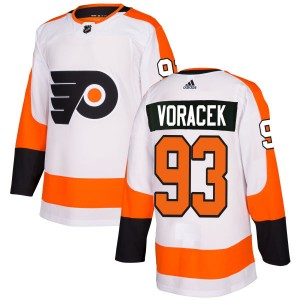 Adidas Philadelphia Flyers Jakub Voracek Jersey - White Authentic