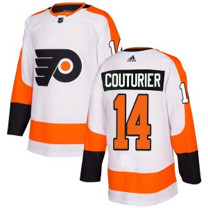 Adidas Philadelphia Flyers Sean Couturier Jersey - White Authentic