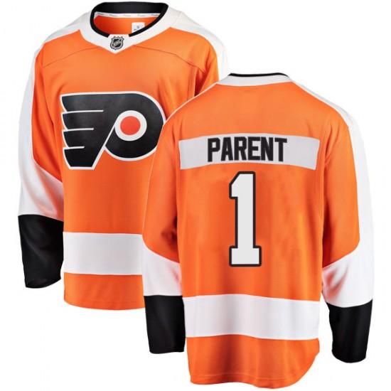 Youth Fanatics Branded Philadelphia Flyers Bernie Parent Home Jersey - Orange Breakaway
