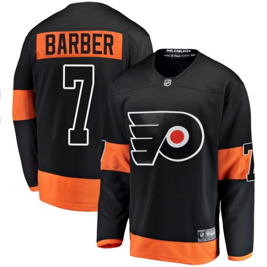 Youth Fanatics Branded Philadelphia Flyers Bill Barber Alternate Jersey - Black Breakaway